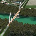 Ponte ciclabile sul Brenta: FOTO ESCLUSIVE