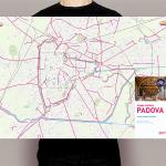 Mappa ciclabile di Padova